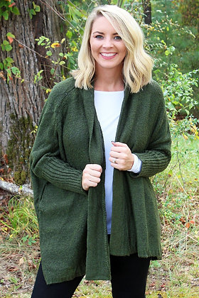 IT'SYOU SWEATER- OLIVE