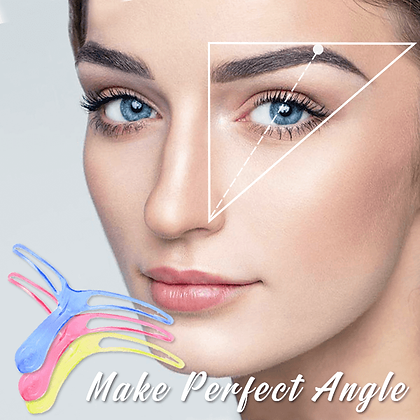 Eye Brow Stencil Kit with Pencil