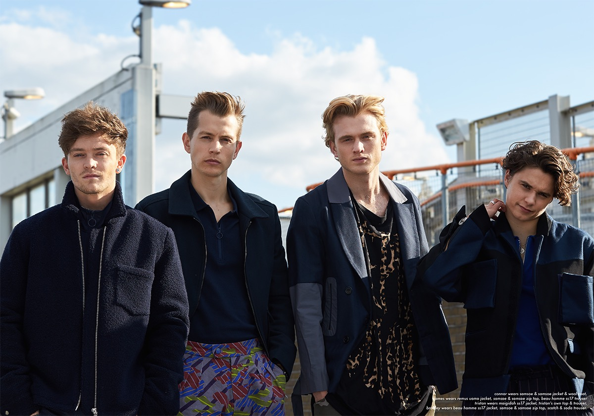 THE VAMPS SHOT BY JEREMY BERNARD