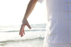 Hand by the Sea