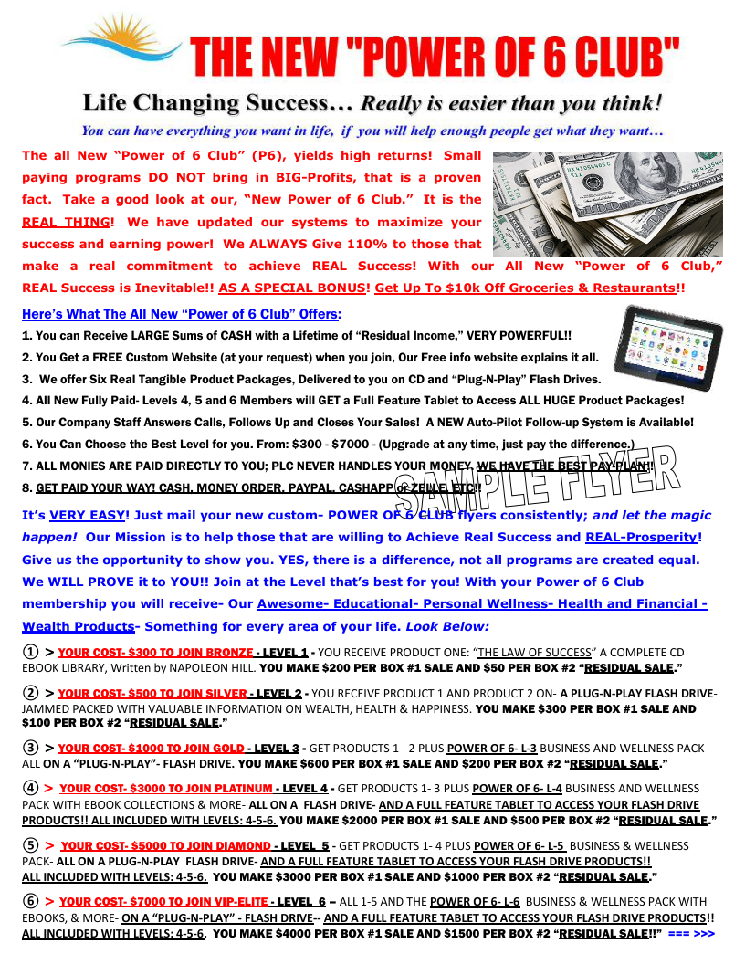 NEW-WEB SAMPLE COLOR POWER-OF 6 FLYER Life Changing Succes…-0001.png