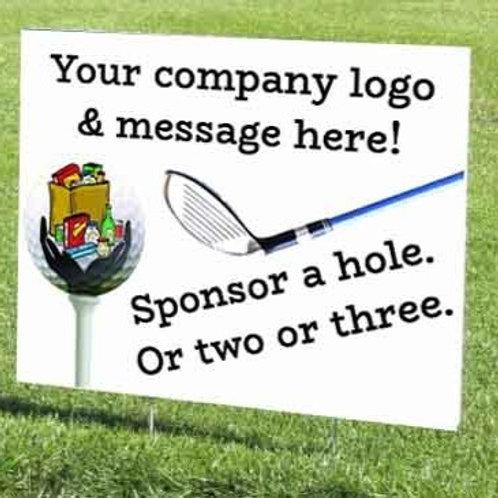 Tee Sign Sponsor