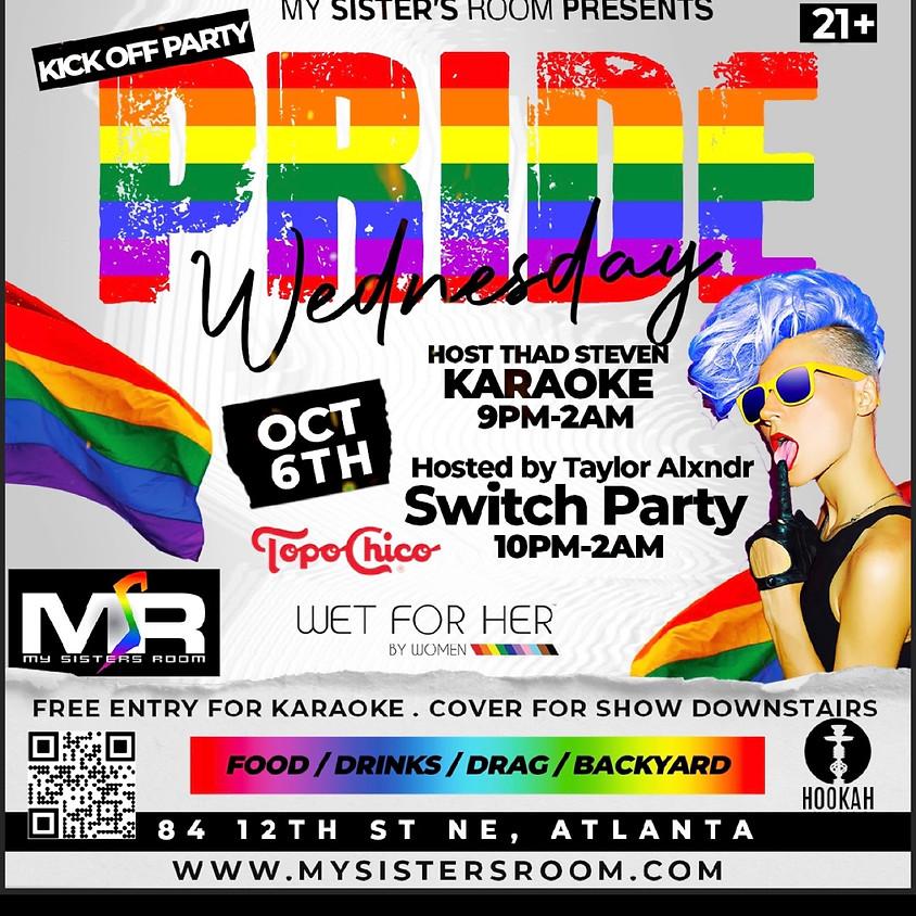 Pride Kickoff Karaoke/ Drag Show Club Level