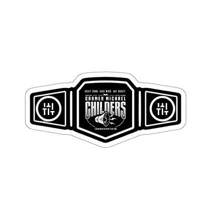 Championship Stickers