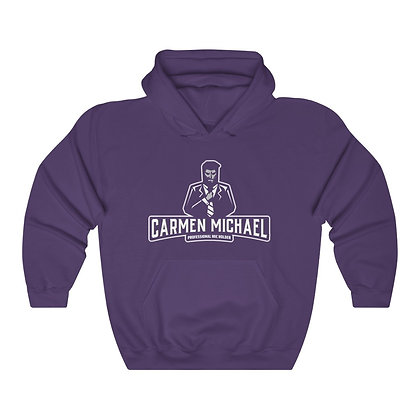 """Professional Mic Holder"" Unisex Heavy Blend™ Hooded Sweatshirt"