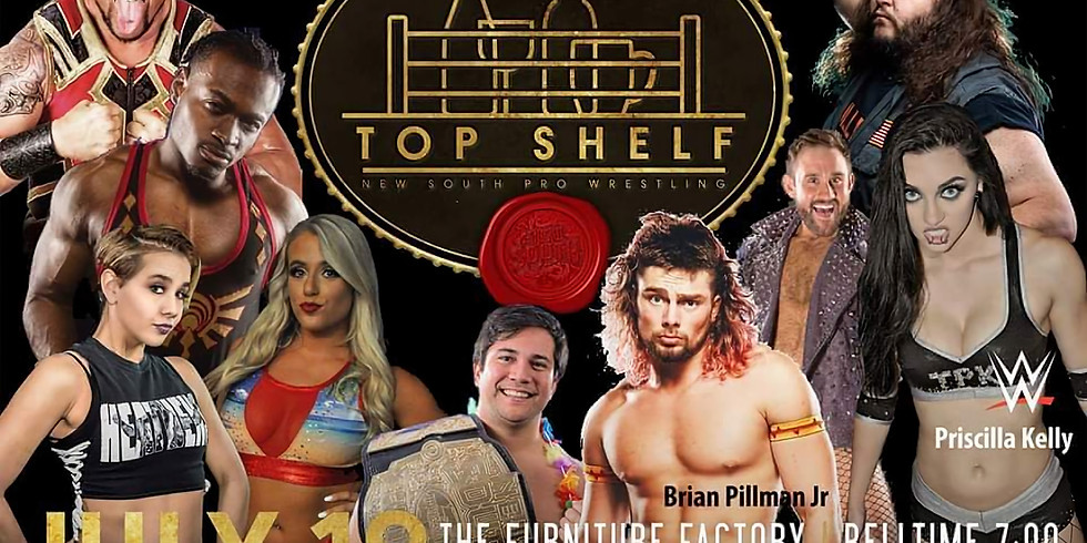 New South Wrestling: Top Shelf