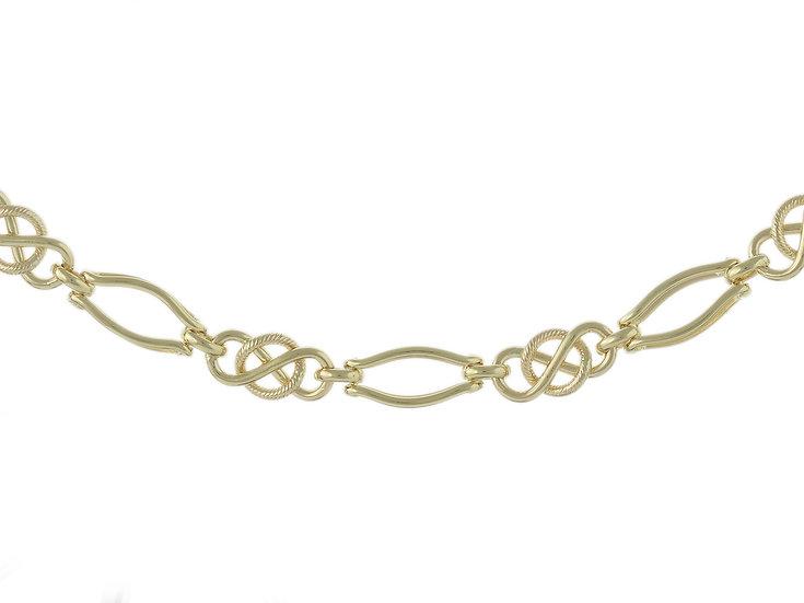 En vie Jewellery 9cm Celtic handmade Bracelet,19cm length.Approx. weight10 GMS, 7.7mm width