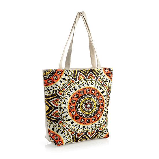 En vie Jewellery Orange tone design bag