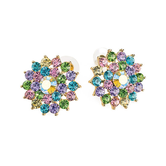 En-Vie™ Stunning multi crystal studs are perfect for any special occasion, with breathtaking stones giving a glamorous look