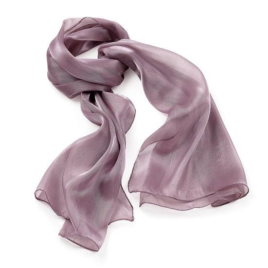 En vie Jewellery Light Purple colour metallic look scarf