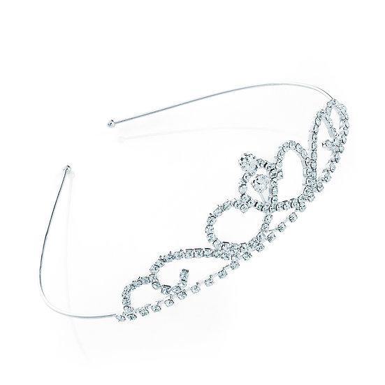 En vie Jewellery Silver colour Tiara