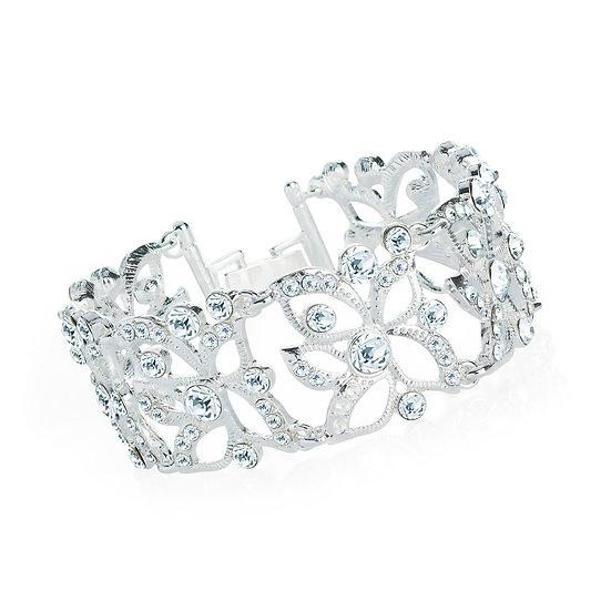 En vie Jewellery Silver colour crystal bracelet
