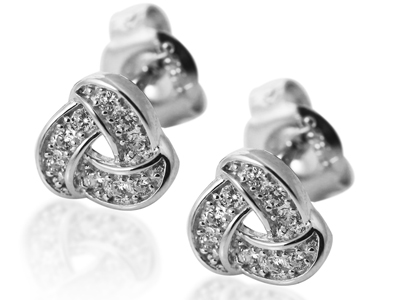 CZ Stud Earrings