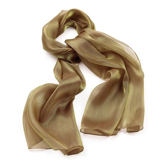 En vie Jewellery Gold colour metallic look scarf