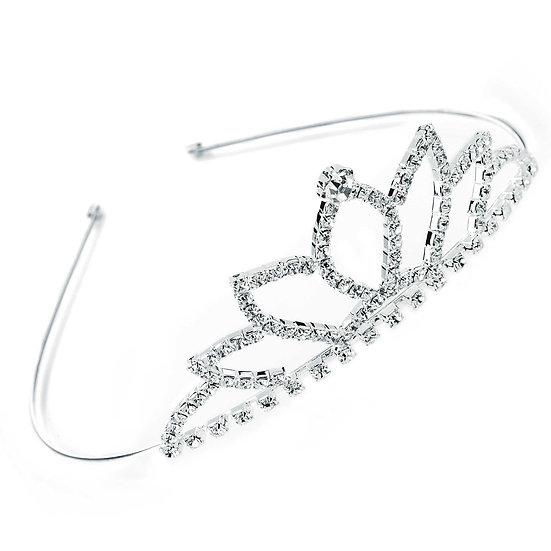 Shiny silver crystal Tiara