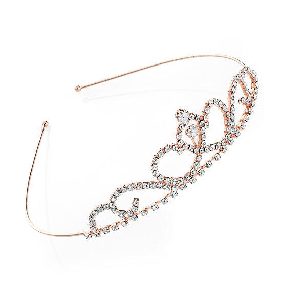 En vie Jewellery Rose gold colour tiara