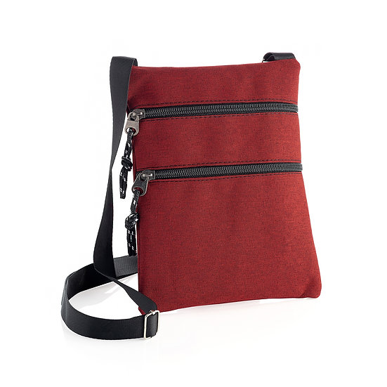 En vie Jewellery Red colour cross body bag