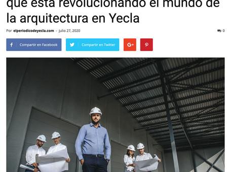 El Periódico de Yecla habla de Luis Madrona y Madmaq Studio