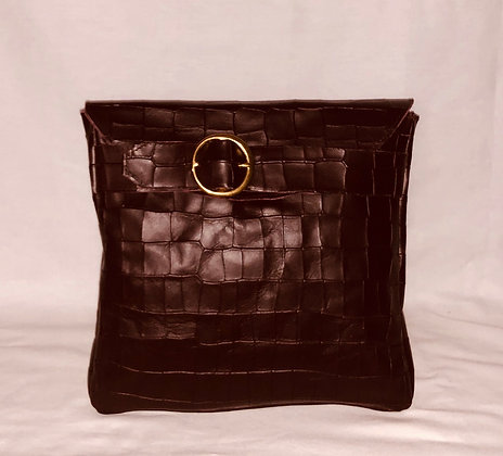 Small Buckle Clutch