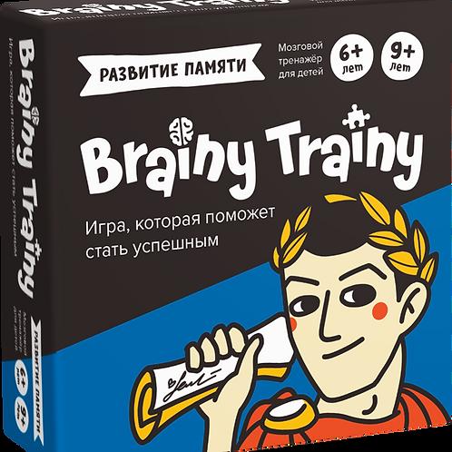 Игра-головоломка BRAINY TRAINY Развитие памяти