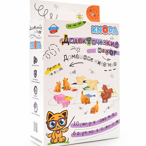 Обучающий набор KNOPA Домашние животные