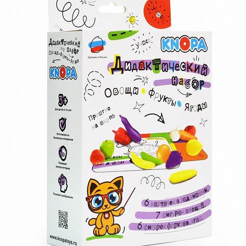 Обучающий набор KNOPA Овощи и фрукты