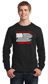 Trump Long Sleeve Flag Tee