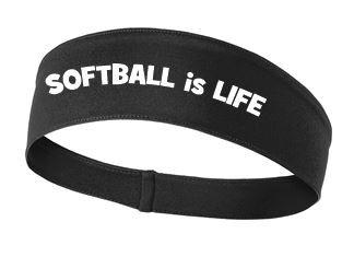 Softball headband