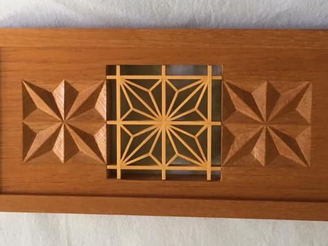 Geometric Woodcarving inspired by Sergio Monterio de Castro