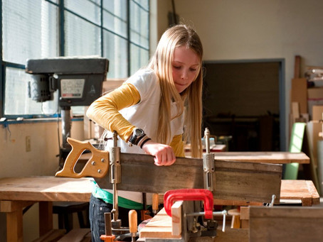 Launching Finnish Woodworking for Kids