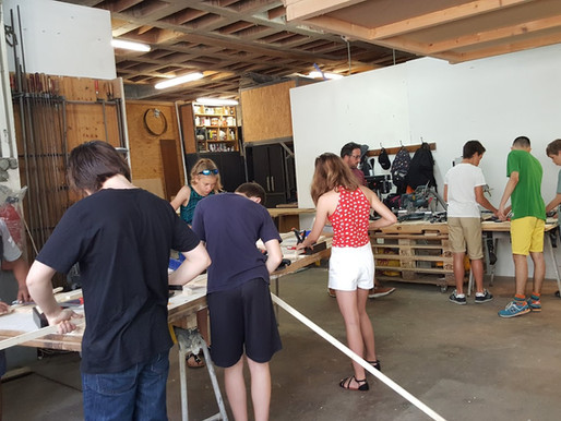 REFLECTIONS ON OUR WOODWORKING CAMPS