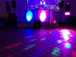 NYE Video DJ Setup