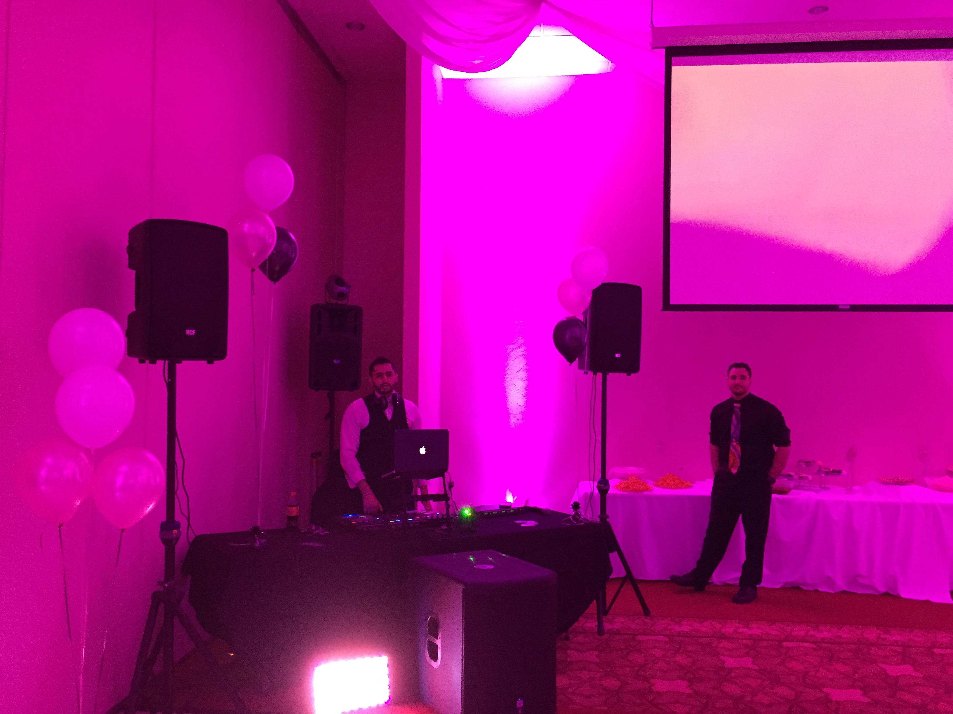 Farmington Video DJ Uplighting