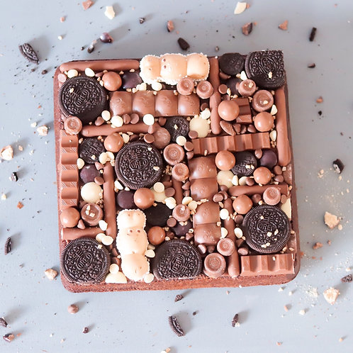 Brownie Overload 9 inch square