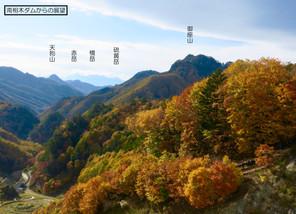 南佐久・御座山 2016.10/31前泊~11/01