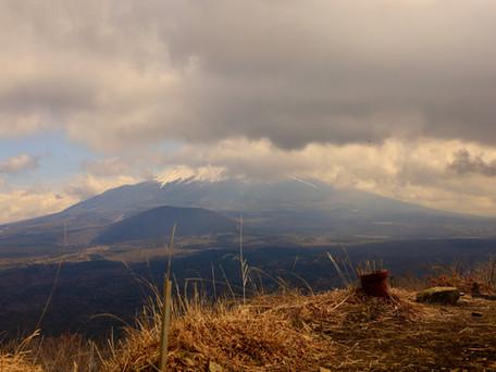 富士山の見える山/烏帽子岳 2021/02/25