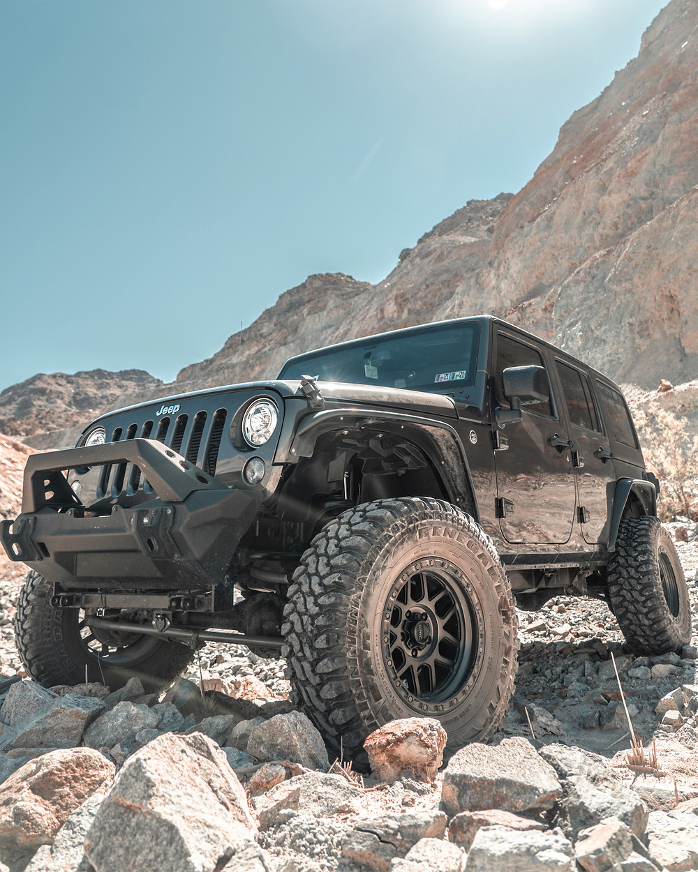 jeep jk on 35s and 4 inch lift