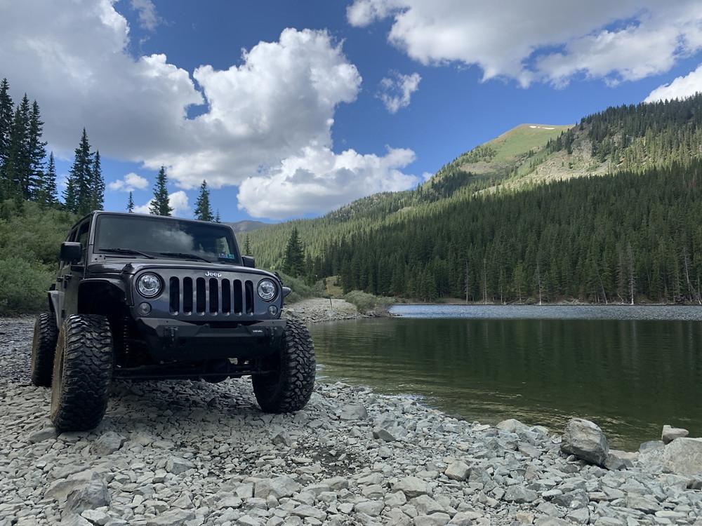 St Elmo to Tincup Pass Jeep trail , Colorado