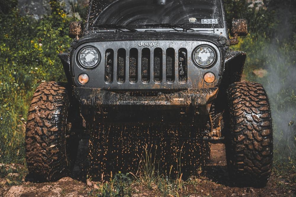 Jeep trail in Buena Vista , Colorado