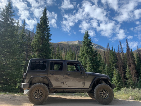 St Elmo to Tincup Trail - Jeep Trail near Buena Vista, Colorado