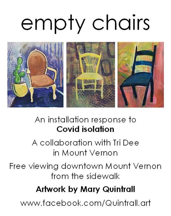Empty Chair installation 2020