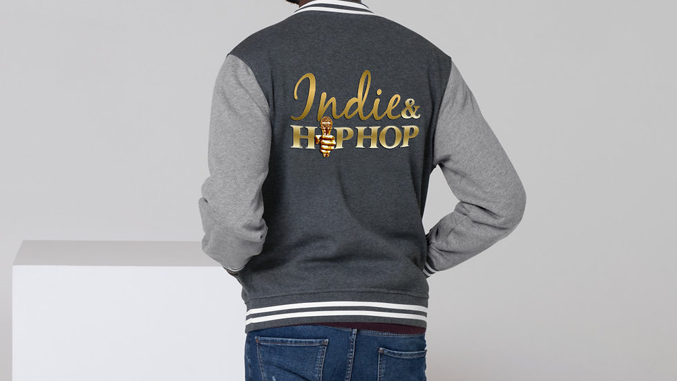 Indie & Hip Hop Men's Letterman Jacket
