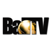 BALL TV LOGO BLACK WITH GOLD GLOBE 5 PNG