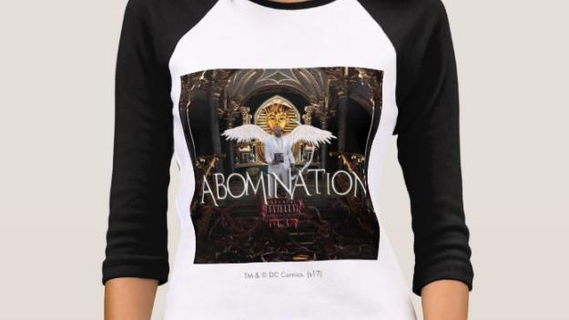 Women's Abomination album Bella+Canvas 3/4 Sleeve Raglan T-Shirt