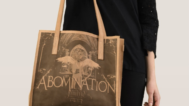 Abomination Leather Tote
