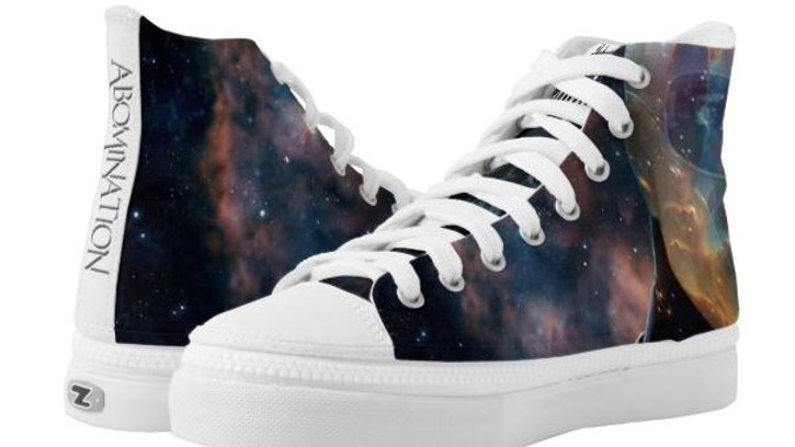 ABOMINATION - High Top Sneakers - IzzI Starz