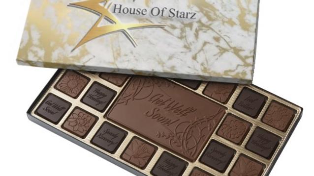 45 Piece 100% Premium Belgian Chocolate Assortment