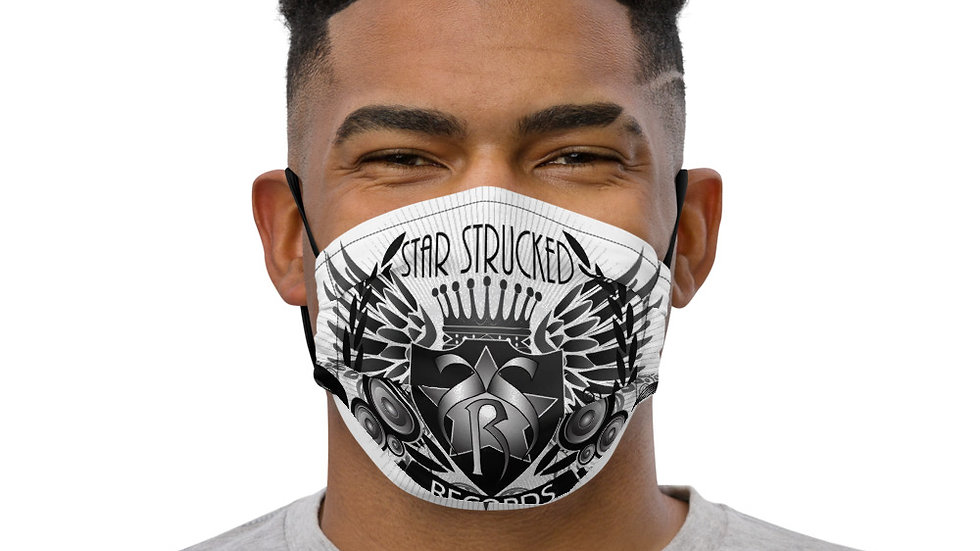 Star Strucked Records Premium face mask