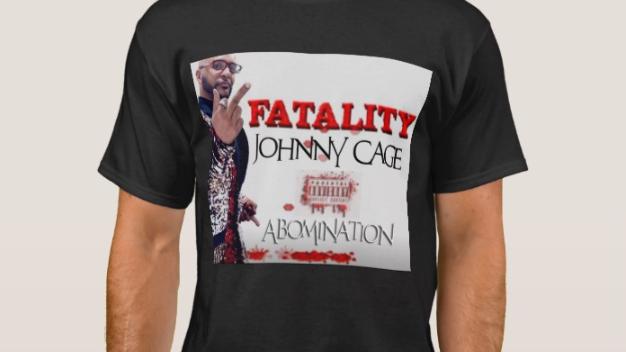 Men's Johnny Cage Basic Dark T-Shirt