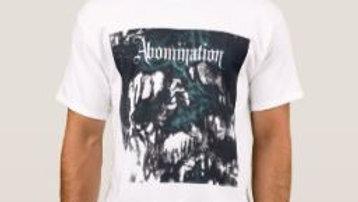 ABOMINATION White T-Shirt - IzzI Starz